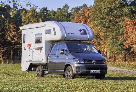 VW T6 mit TISCHER Kabine