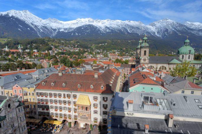 Innsbruck aerial, Austri