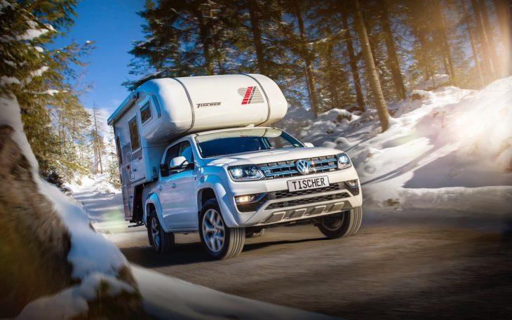 TISCHER Kabine auf Pick-Up VW Amarok