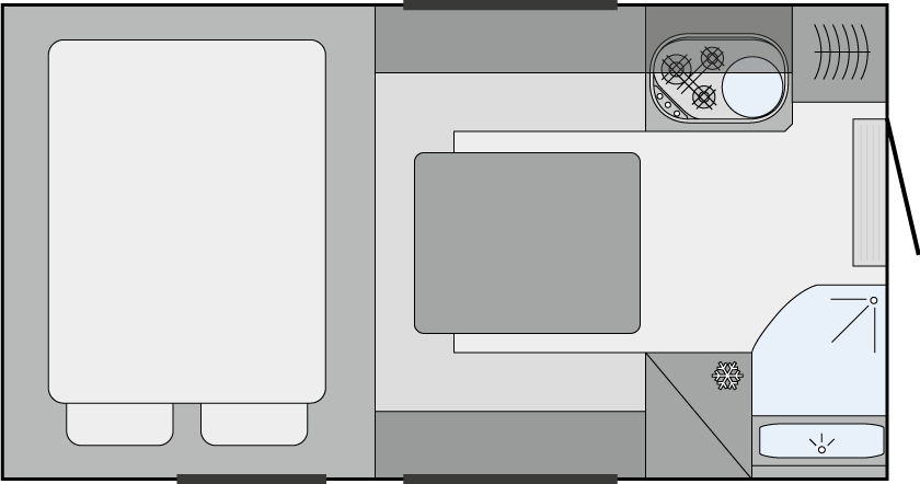 Inneneinrichtung TRAIL/BOX 240